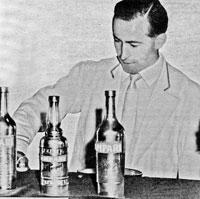 NBF | IBA Verdensmester i drinkmiksing 1961 Egil Moum