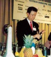 NBF | IBA Verdensmester i drinkmiksing 1993 Jahn Nesset