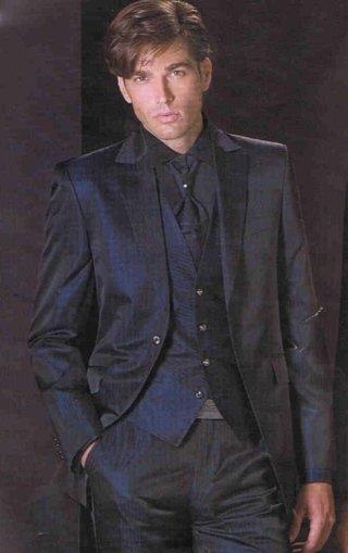 abito con gilet, abito elegante maschile