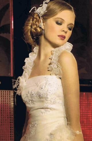 abiti da sposa, abiti sposa ricamati, abiti sposa palloncino
