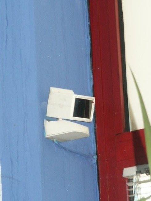 Sistemi di sicurezza: telecamera ad infrarossi