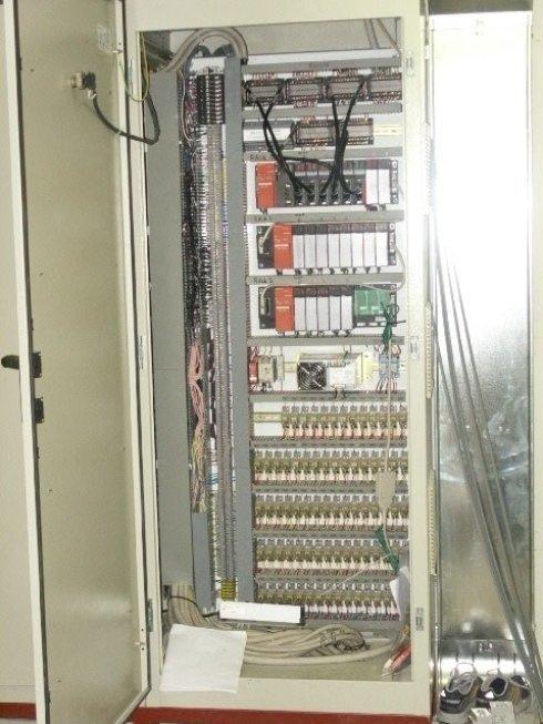 Quadro elettrico ausiliario con connessione plc