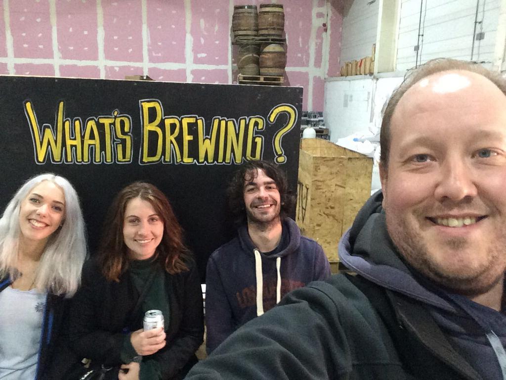 alechemy brewing montys bar edinburgh brew day craft beer mango ale scottish scotland