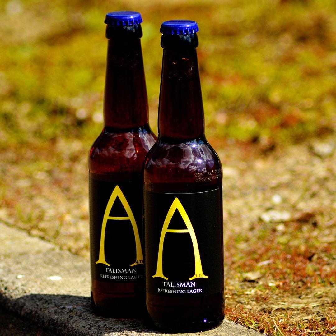 alechemy talisman lager craft beer boost deal asda scottish breweries beer bottles outdoors