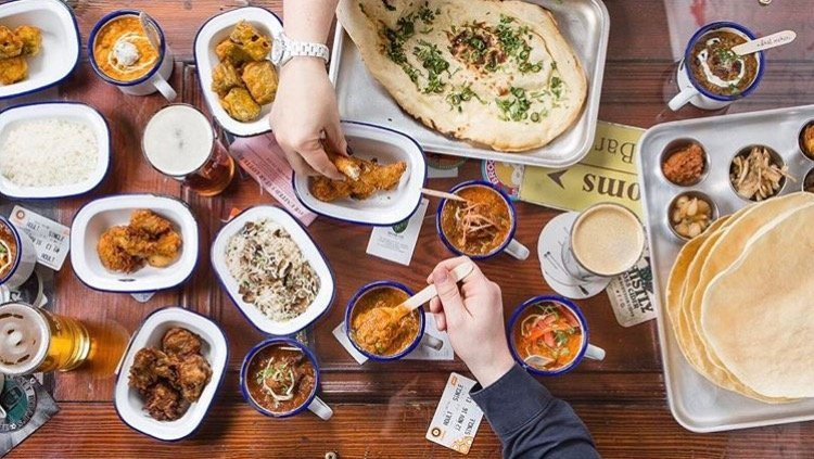 crossing the rubicon small plates curry naan bread alechemy beer meet the brewer west end festival what's on glasgow brewery