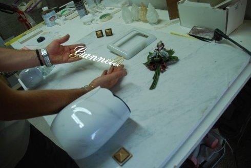 Produzione articoli funari in metallo, vetro e marmo
