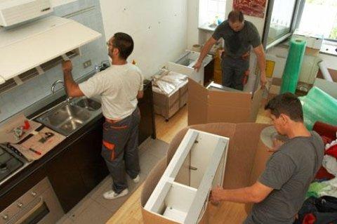 smontaggio e montaggio mobili trasloco