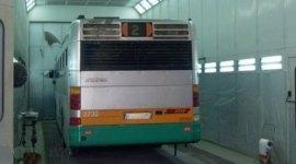 Verniciatura autobus di linea
