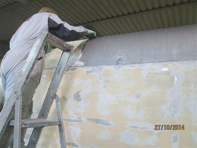 Stuccatura carrozzeria camper