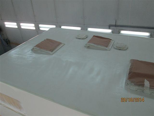 Riparazione tetto camper