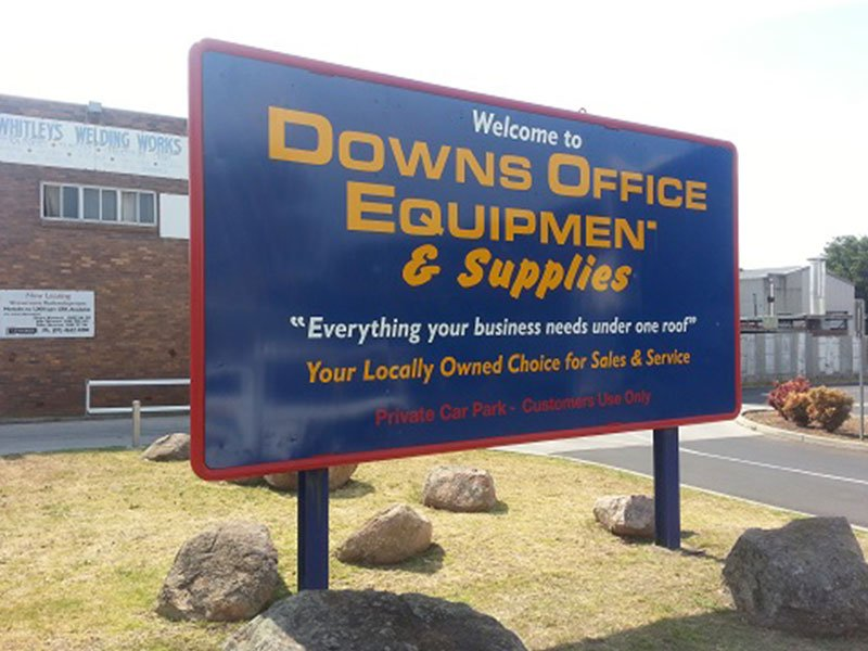 Sign written by our sign writers in Toowoomba