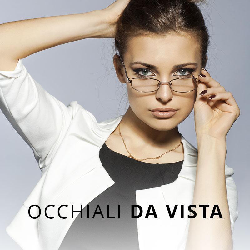 occhiali da vista e lenti a contatto