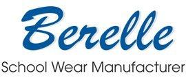 berelle school wear manufacturer brand logo