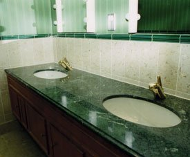 Granite and marble sink and table tops