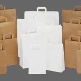 borse carta avana bianche