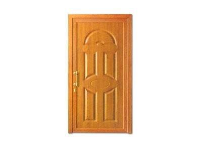 Porta alluminio simil legno - CAF serramenti infissi Baveno