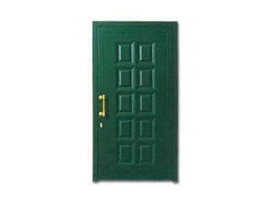 Porta verde - CAF serramenti infissi Baveno