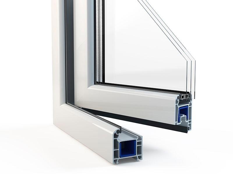 Dettaglio finestra pvc - CAF Verbania
