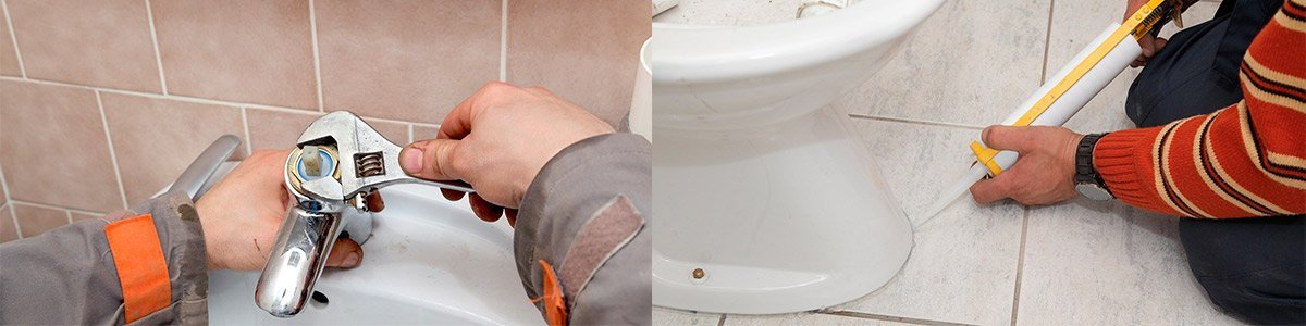 rescue plumbing flush toilet