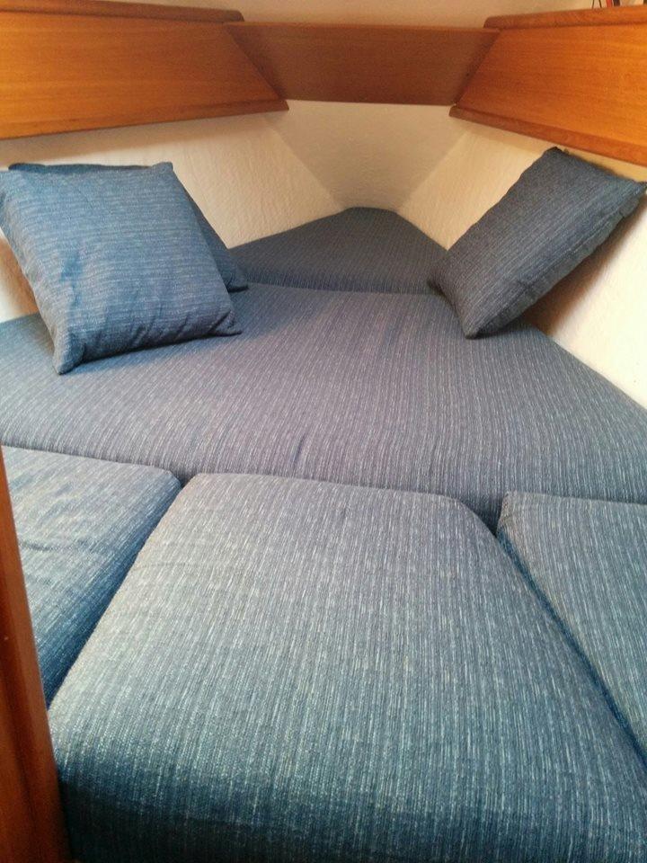 foderatura divani imbarcazioni
