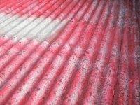 Copertura di un tetto in amianto a Bregnano