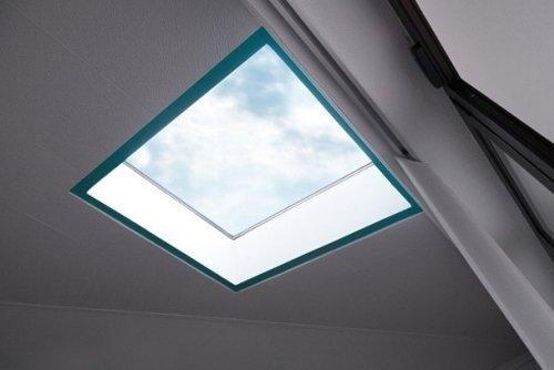 lucernario sul soffitto