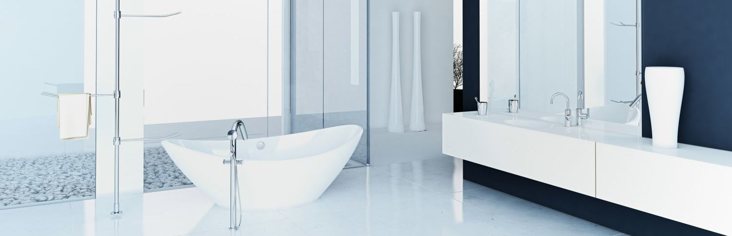A bathroom finished by plumbing services in Thames Valley