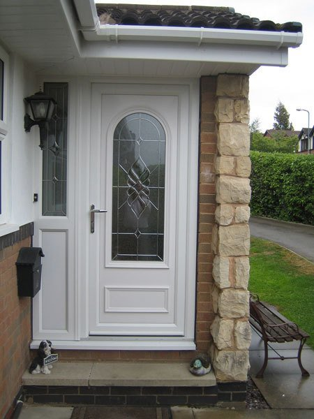white coloured door