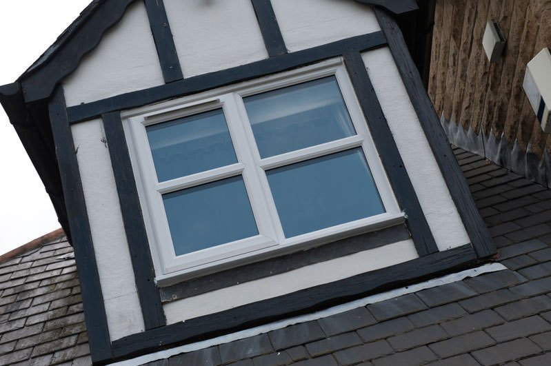 windows on the roofing