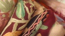 tessuti di abiti orientali