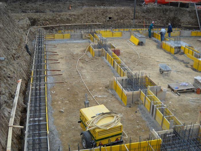 fondazione in cemento armato