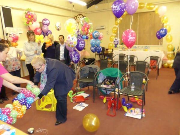 Balloon course