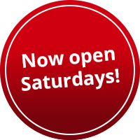 Now open Saturdays!