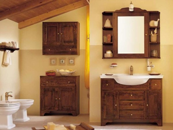 Bagni classici cuneo mobilificio parola luigi for Arredo bagno stile antico