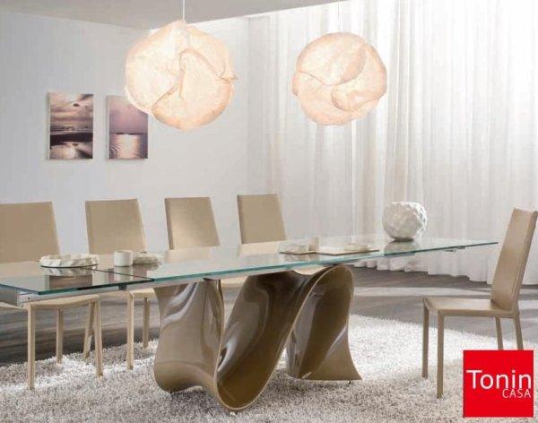 Tavolo Allungabile Moderno Con Sedie.Tavoli E Sedie Moderne Cuneo Mobilificio Parola Luigi