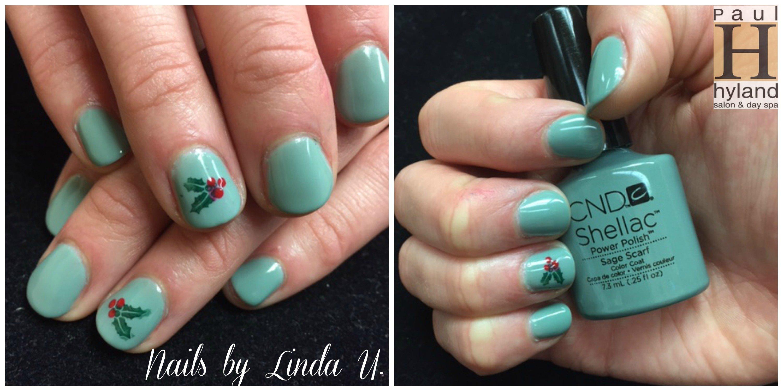 CND Shellac, nail art