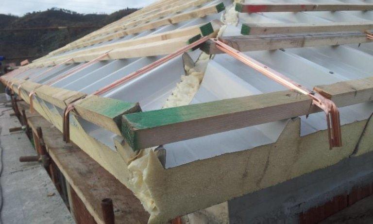 Sistema tetto ventilato Isol Pann