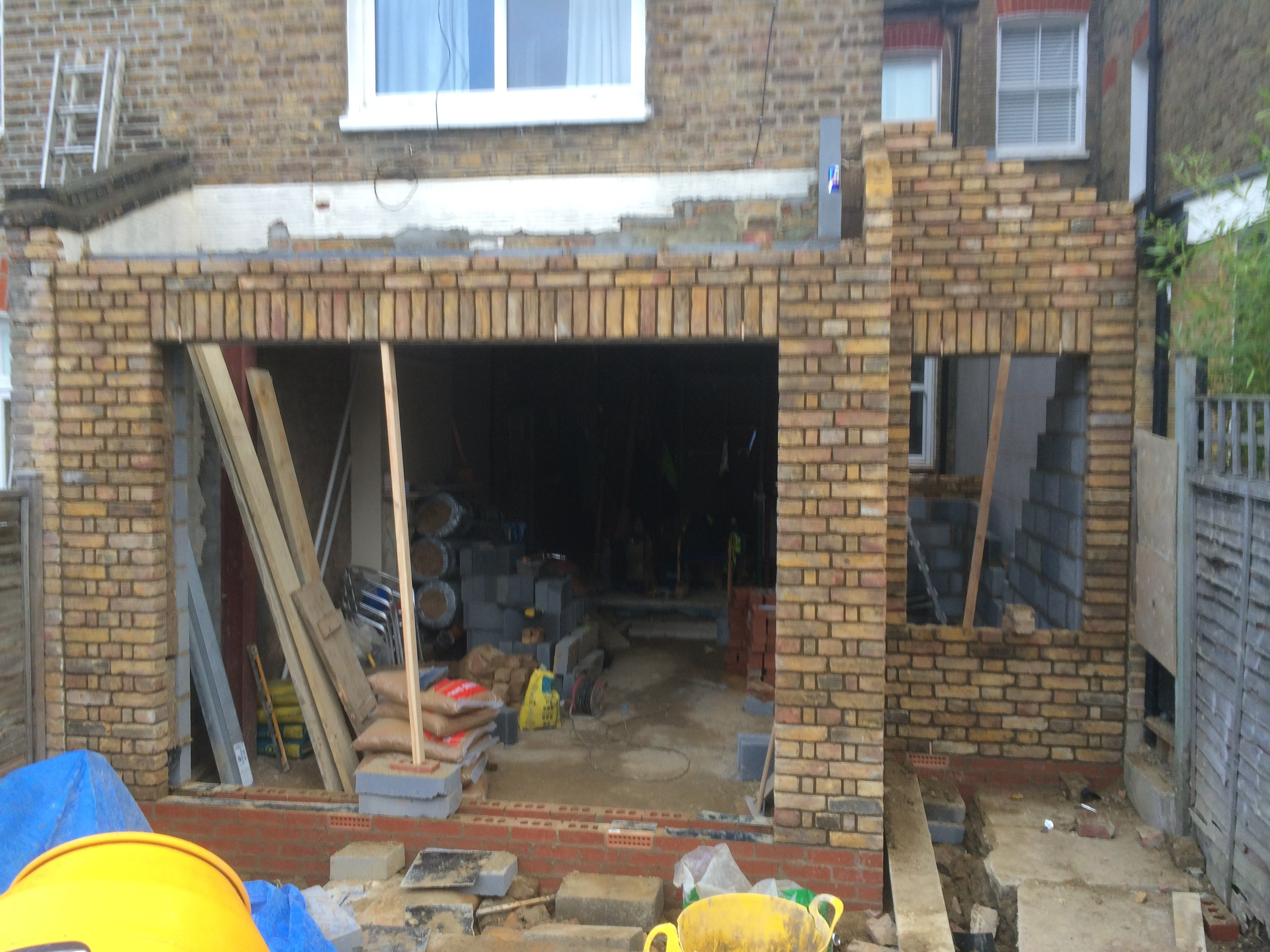 underconstructed house