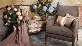 tende e stoffe ricamate dallo stile vintage
