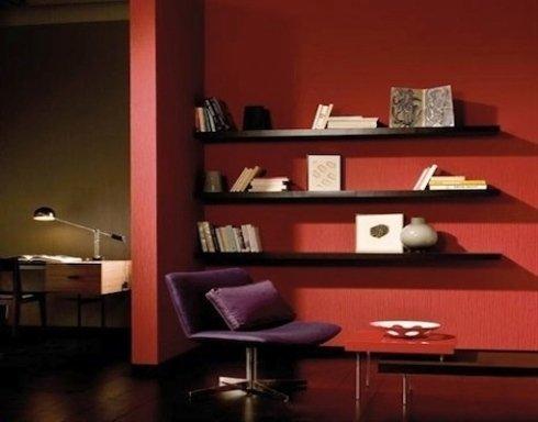soluzione d'arredo per soggiorno e studio