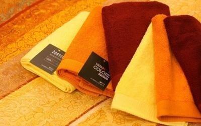asciugamani per il bagno colorati