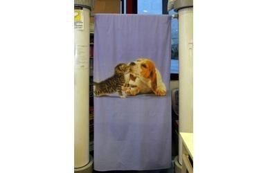 copri letto con animali