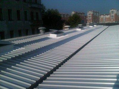 Copertura pannelli coibentati a Torino