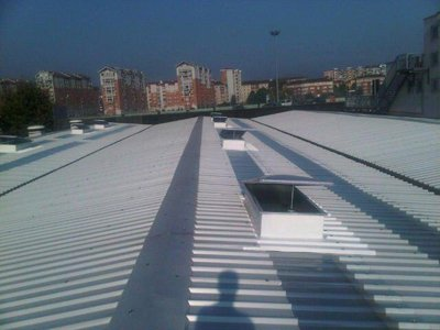 Copertura lastre in fibrocemento ecologico a Torino