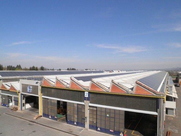 Pannelli fotovoltaici installati a Torino