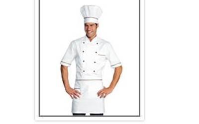 giacca cuoco mezze maniche