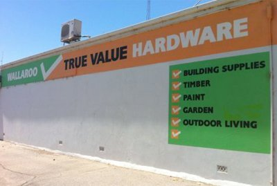 wallaroo hardware shop wall