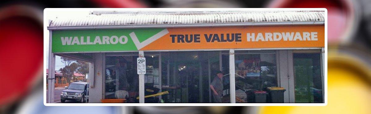 wallaroo hardware shop