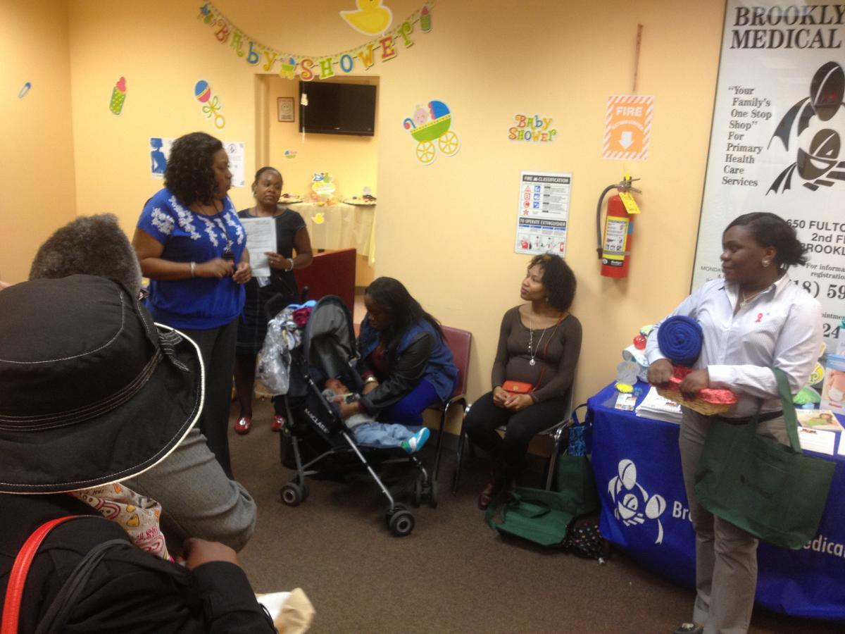 community baby shower at brooklyn plaza medical center inc