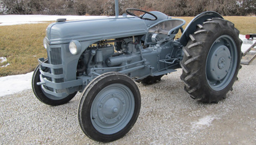 Tractor after commercial painting services available in Dorchester & Crete, NE